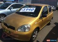 2000 Toyota Echo NCP10R Gold Automatic 4sp A Hatchback for Sale