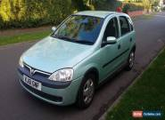 2001 VAUXHALL CORSA ELEGANCE 16V AUTO GREEN   LOW MILES  for Sale
