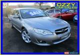 Classic 2008 Subaru Liberty MY08 2.5I Silver Automatic 4sp A Sedan for Sale