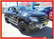 2012 Ford Ranger PX Wildtrak Black Automatic A 4D Utility for Sale