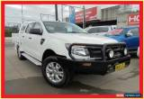 Classic 2014 Ford Ranger PX XL White Manual 6sp M 4D Cab Chassis for Sale