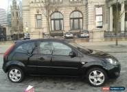 2007 FORD FIESTA 1.2 Zetec Climate 3 Door Panther Black Low Miles  for Sale