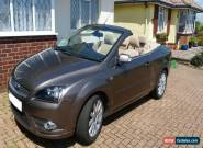 FORD FOCUS CONVERTIBLE, 2.0TDI, 2007, 123k miles. for Sale
