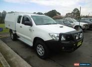 2011 Toyota Hilux KUN26R MY12 SR (4x4) White Manual 5sp M Extracab for Sale