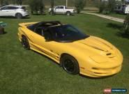 2002 Pontiac Firebird TRANS AM COLLECTOR EDITION for Sale