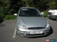 Ford Focus 1.6 LX. 2002. Silver for Sale