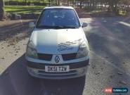 Renault Clio 1.2 SPARES OR REPAIR NO RESERVE for Sale
