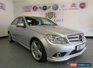 MERCEDES C CLASS 3.0 C320 CDI SPORT 2009 Diesel Automatic in Silver for Sale