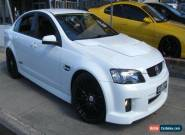 2010 Holden Commodore VE MY10 SS-V White Automatic 6sp A Sedan for Sale