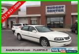 Classic 2004 Chevrolet Impala Base Sedan 4-Door for Sale