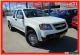 Classic 2009 Holden Colorado RC MY09 LX White Manual 5sp M Utility for Sale