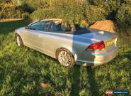 2006 Volvo C70 SE 2.5L Convertible Silver With Black Leather. Manual. Long MoT for Sale