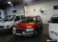 2000 Subaru Forester Limited Red Automatic 4sp A Wagon for Sale