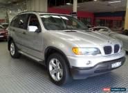 2003 BMW X5 E53 3.0D Silver Metallic Automatic 5sp A Wagon for Sale