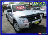2008 Mitsubishi Pajero NS GLX LWB (4x4) Silver Automatic 5sp A Wagon for Sale