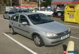 Classic 2002 VAUXHALL CORSA COMFORT 16V SILVER for Sale