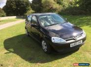 2003 VAUXHALL CORSA ELEGANCE 1.2 5 DOOR HATCHBACK for Sale