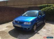 Volkswagen Polo 1.4 2000 SE Spares or Repair for Sale