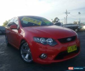 Classic 2010 Ford Falcon FG Upgrade XR6 Red Automatic 6sp A Sedan for Sale