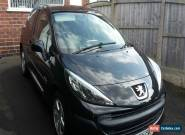 Peugeot 207 1.4 Verve 3dr, 2009, 47137milles, black for Sale