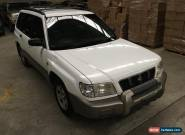 subaru forester 2001 MY02 2.0L AWD 5spd manual station wagon  AS TRADED IN SALE for Sale
