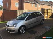 2007 FORD FIESTA 1.6 STYLE AUTO SILVER for Sale