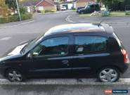 renault clio 1.6 16v ** SPARES OR REPAIR ** for Sale