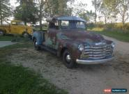 1950 Chevrolet Other Pickups DRIVING runs for Sale
