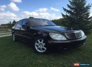2002 Mercedes-Benz S-Class Chrome for Sale