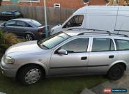 2004 VAUXHALL ASTRA LS DTI SILVER for Sale