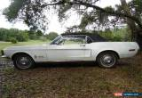 Classic 1968 Ford Mustang Base Convertible 2-Door for Sale