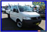 Classic 2008 Volkswagen Transporter T5 MY08 (LWB) White Manual 5sp M Dual Cab Chassis for Sale
