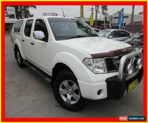 Classic 2008 Nissan Navara D40 ST-X White Automatic 5sp A 4D UTILITY for Sale