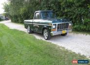 1979 Ford F-100 Short Bed for Sale