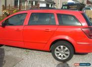 2005 VAUXHALL ASTRA CLUB CDTI RED 1.7 cc for Sale