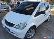 1999 Mercedes-Benz A160 W168 Avantgarde White Automatic 5sp A Hatchback for Sale