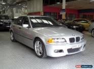 2000 BMW 318I E46 Executive Silver Metallic Manual 5sp M Sedan for Sale