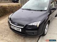 2007 FORD FOCUS ZETEC CLIMATE BLACK 1.8l for Sale