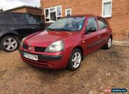 renault clio 1.2 5 door  for Sale