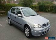 2002 VAUXHALL ASTRA 1.6 LS 8V AUTO  ***  MILAGE ONLY 54 k  *** for Sale