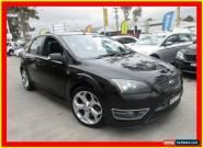 2007 Ford Focus LT XR5 Turbo Black Manual 6sp M Hatchback for Sale