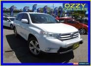2011 Toyota Kluger GSU45R MY11 Upgrade KX-S (4x4) Crystal Pearl Automatic 5sp A for Sale