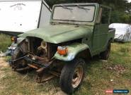 VERY VERY RARE 1962 TOYOTA FJ40 FOR RESTORATION . NO RESERVE AUCTION >  for Sale