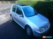 2001 VOLKSWAGEN GOLF S SILVER 1.4 72k NO PREVIOUS OWNERS LONG MOT GREAT CAR for Sale