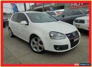 2007 Volkswagen Golf V MY08 GTi White Automatic A Hatchback for Sale