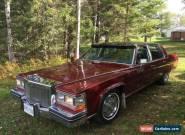 1984 Cadillac Fleetwood D'Elegance for Sale
