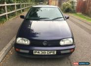 VW VOLKSWAGEN GOLF1.6 GL AUTO RUNS EXCELLENT SPARES OR REPAIR ONLY 45K MILES  for Sale