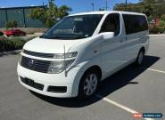 2003 Nissan Elgrand E51 VG White Automatic 5sp A Wagon for Sale