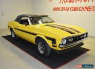 1971 Ford Mustang 2 Door Convertible for Sale