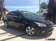 2011 Holden Cruze JH MY12 SRi Black Automatic 6sp A Sedan for Sale